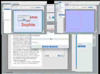 Sophie editing interface